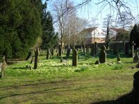 The Old Cemetery in the closed churchyard